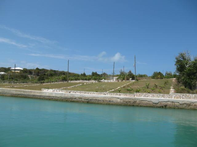 Bahamas canal front real estate for sale