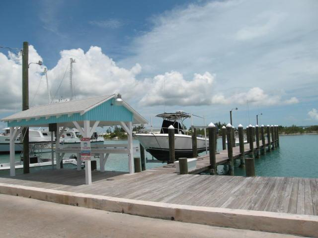 Large dock for sale Spanish Wells Eleuthera Bahamas
