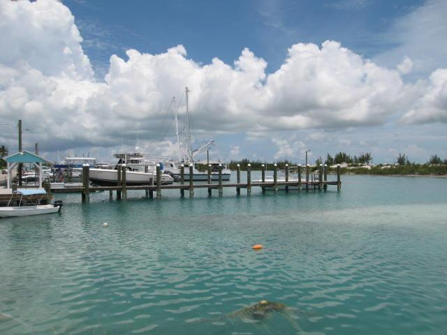 Spanish Wells Eleuthera Bahamas dock for sale