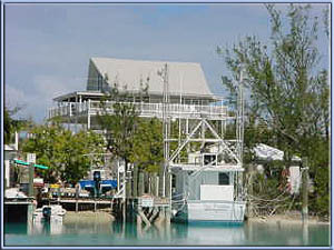 Deep water dock villa Spanish Wells Bahamas for sale