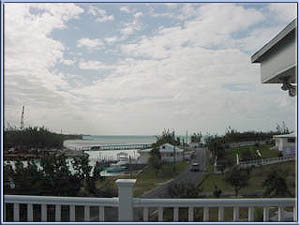 Deep water dock view villa for sale Bahamas