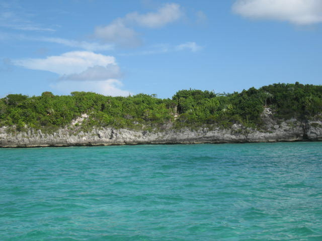 Russell Island bahamas waterfront lot