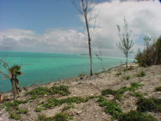 Bahamas real estate Russell Island oceanfront